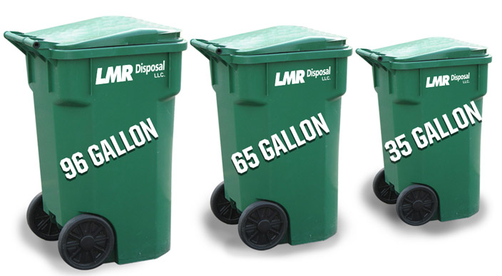 Residential Trash Can Sizes